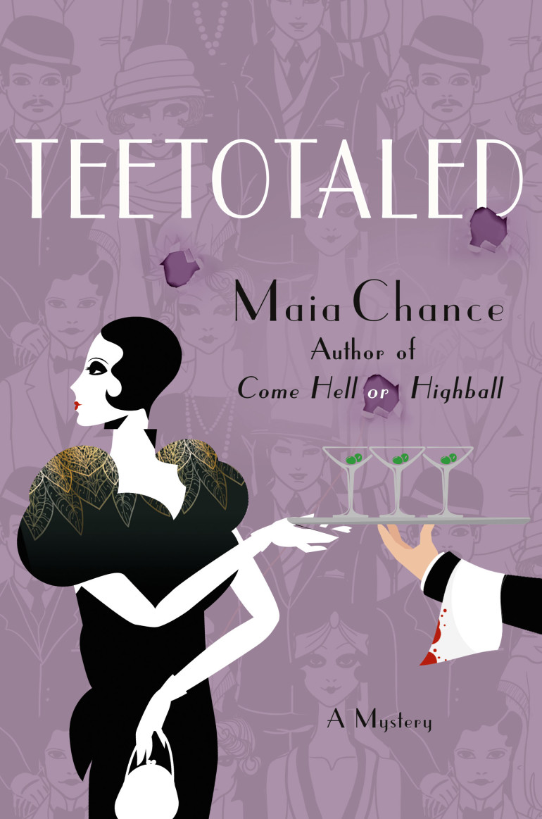 Maia Chance Teetotaled cozy mystery Discreet Retrieval Agency