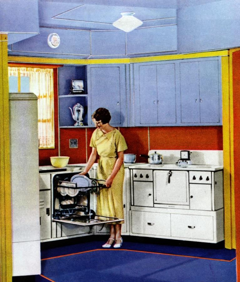 Top five reasons to love vintage kitchens maia chance for Interieur 70 jaren